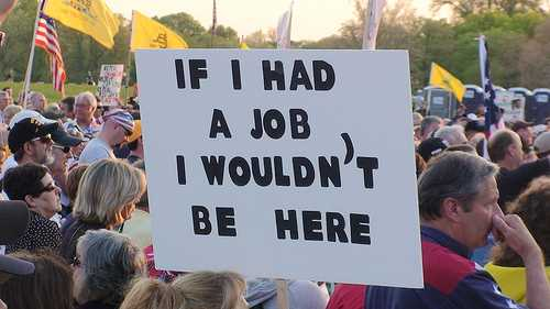 American Jobs Protest