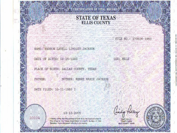 Facebook Pages Near Texas Border Selling Fake Us Birth Certificates